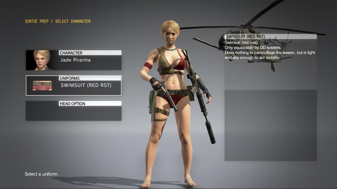 Unlock Playable Avatar (No Longer Updated) at Metal Gear ...