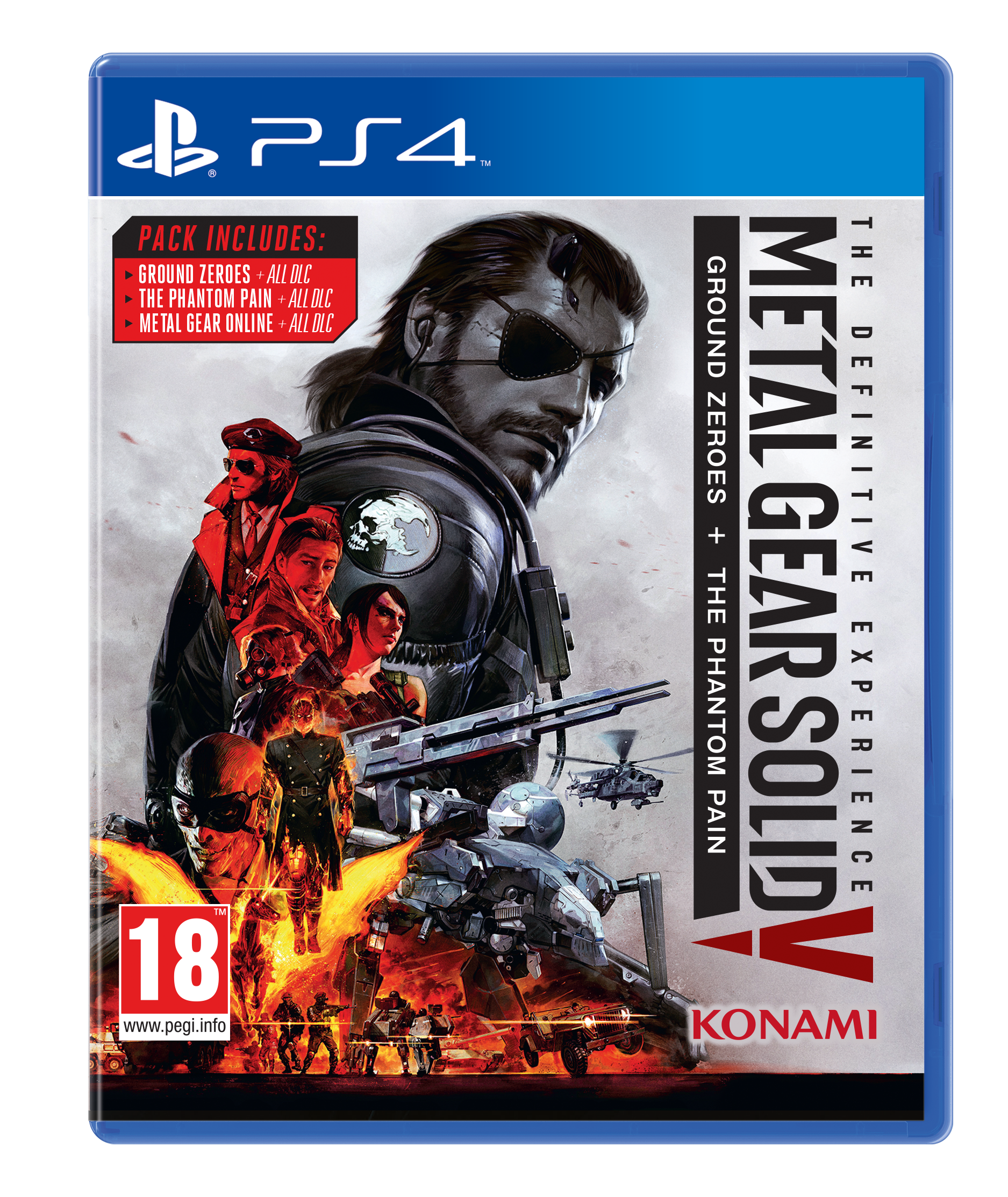 Metal Gear Solid V: The Definitive Experience Officially
