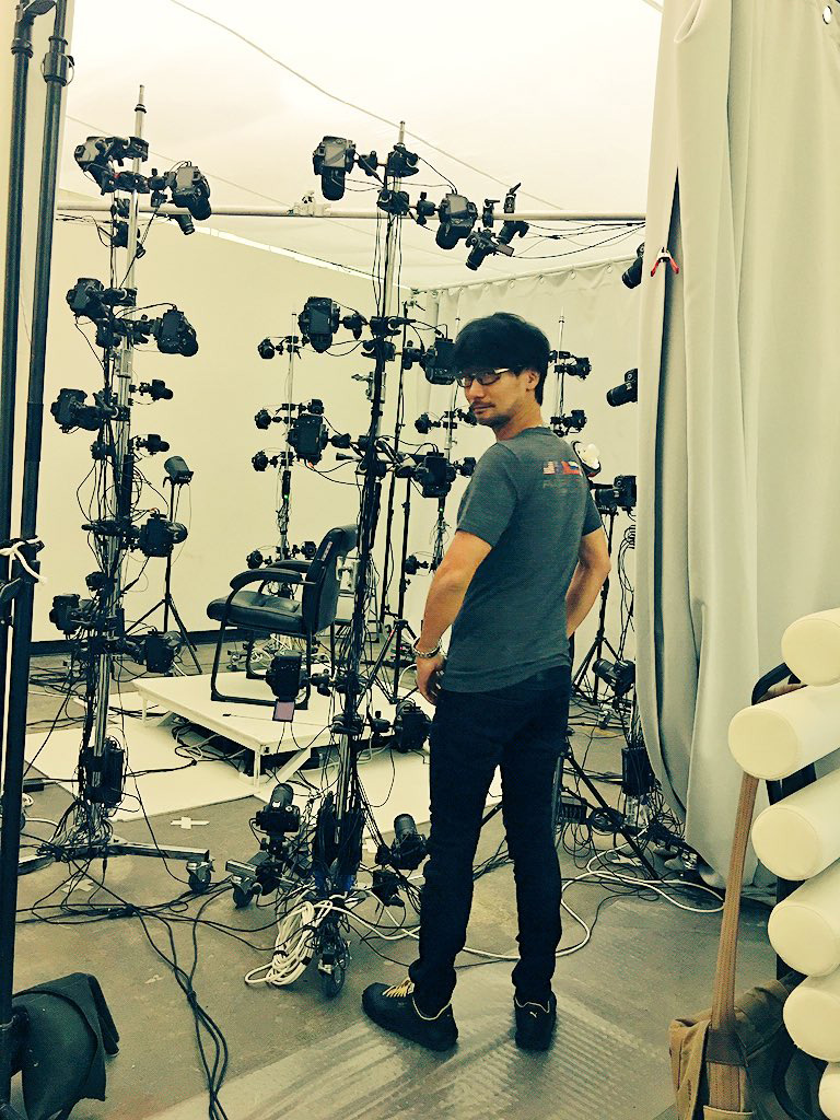 hideo-kojima-3d-scanning-studio-september-2016