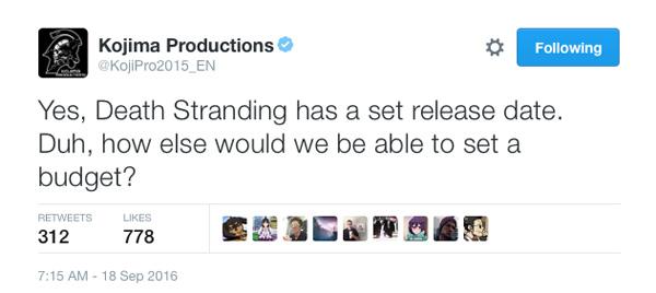kojipro-twitter-death-stranding-release-date