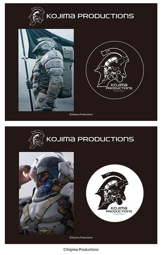 Kojima Productions Badges