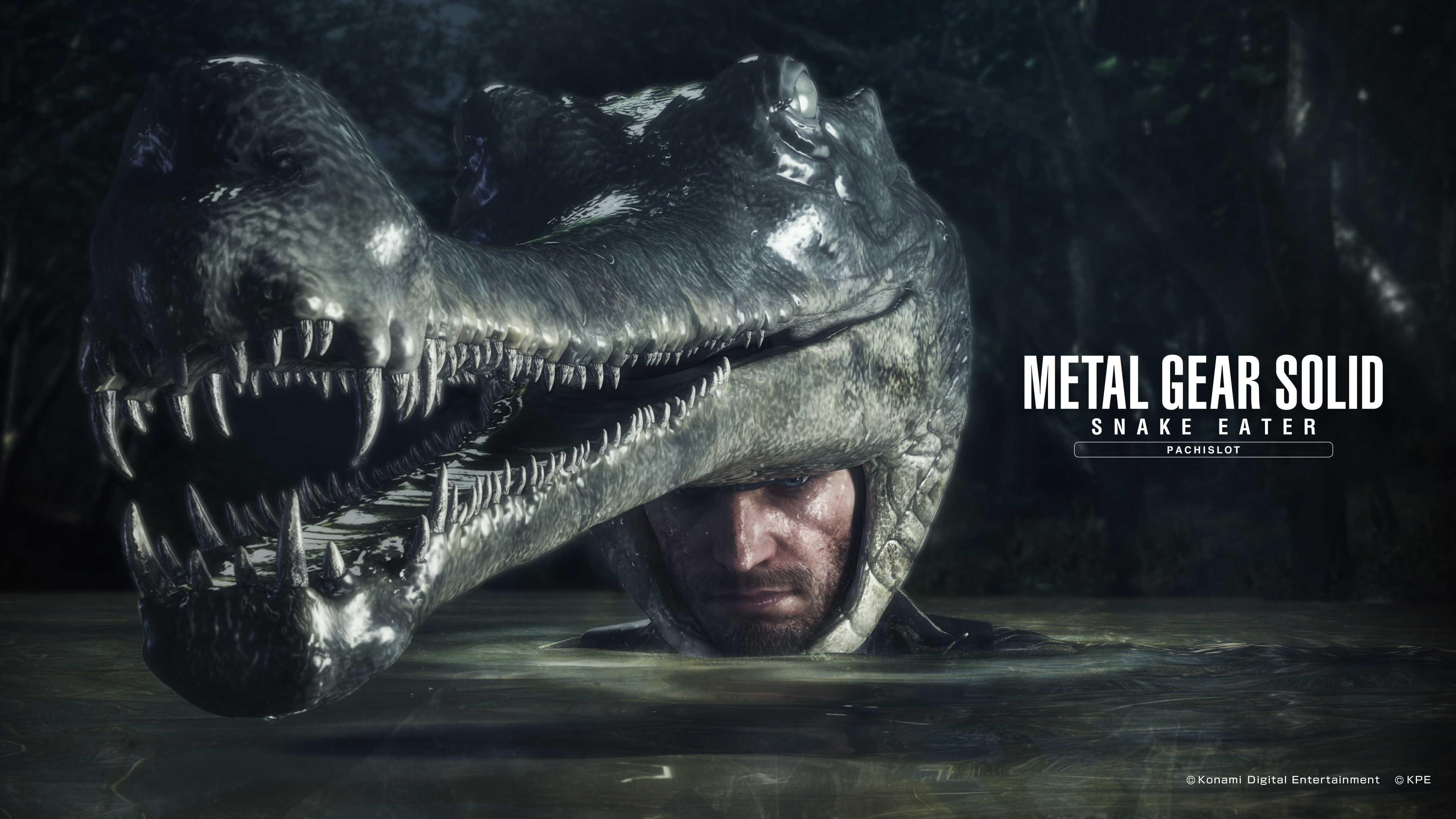 official metal gear solid snake eater pachislot wallpapers released