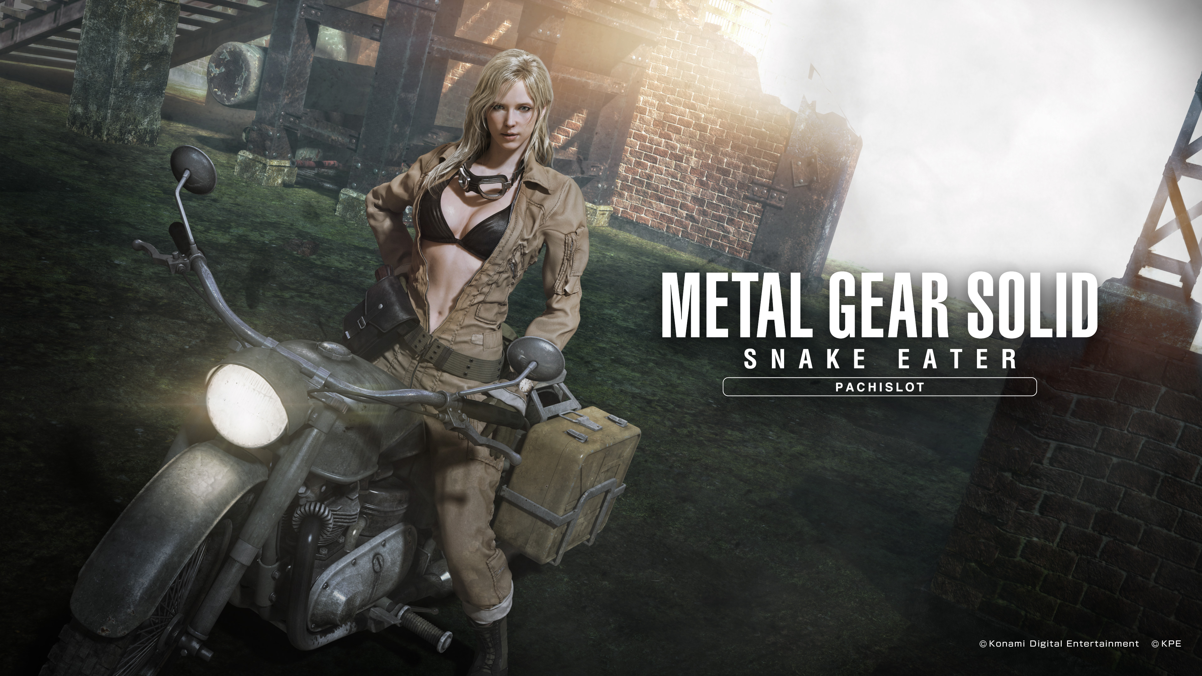 MGS Snake Eater Pachislot Wallpaper PC 4