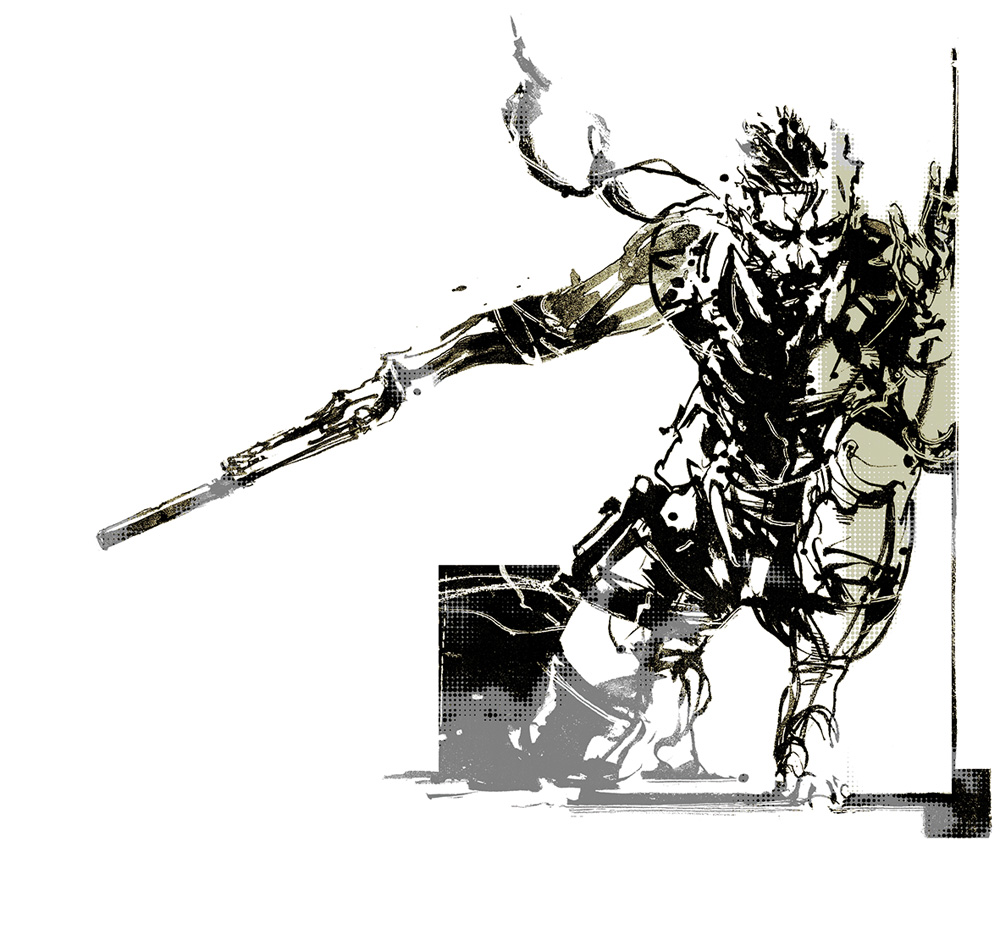 high quality versions of metal gear art being made