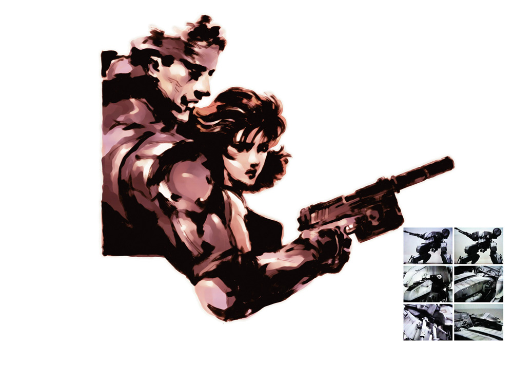 yoji-shinkawa-metal-gear-solid-1-art