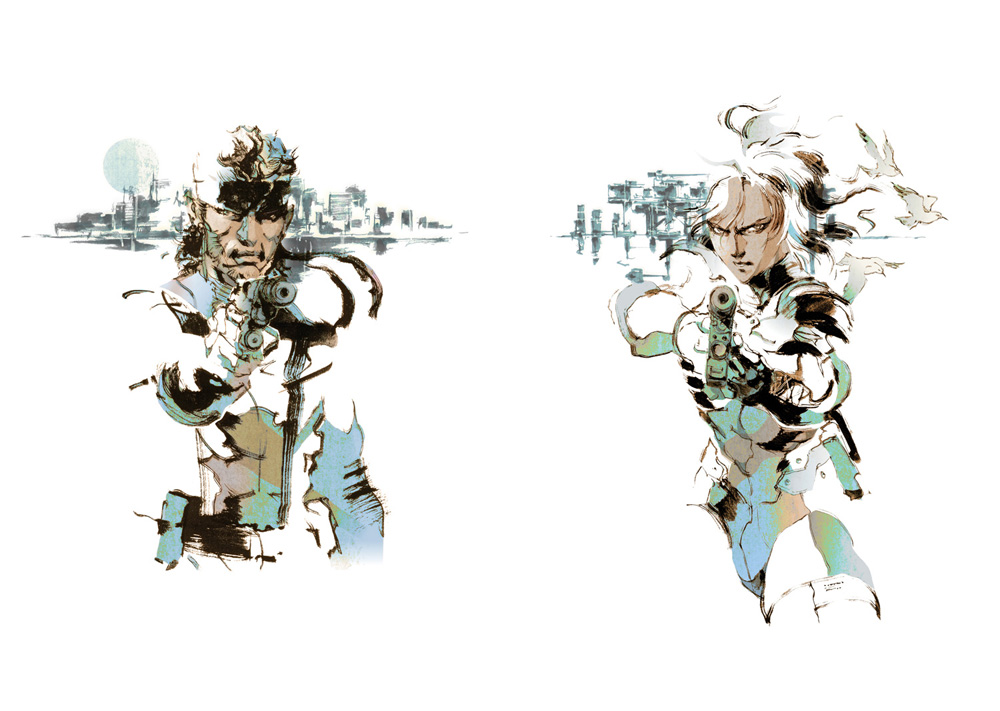 yoji-shinkawa-metal-gear-solid-2-art