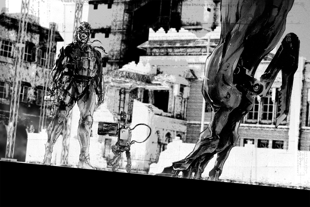 yoji-shinkawa-metal-gear-solid-4-art