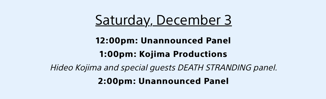 hideo-kojima-playstation-experience-2016-panel-schedule