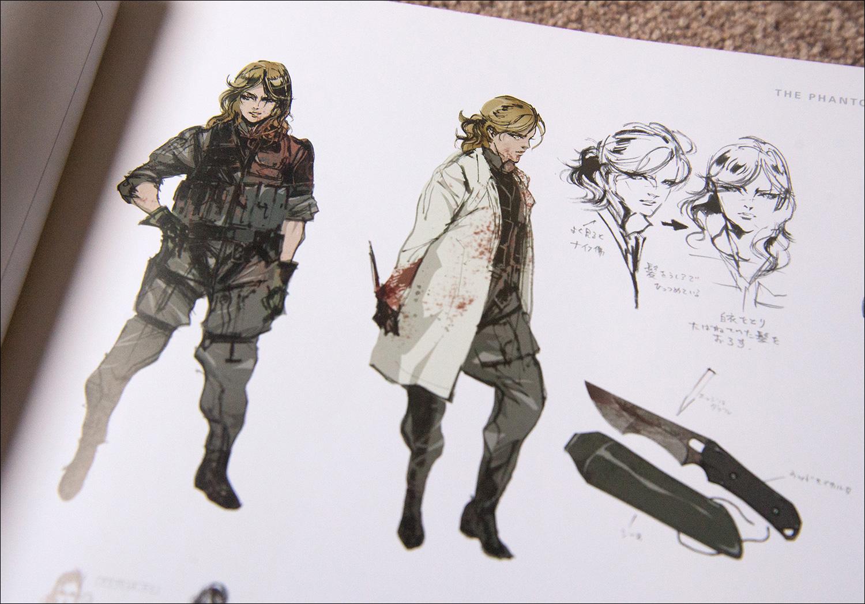Metal Gear Solid 4 Concept Art