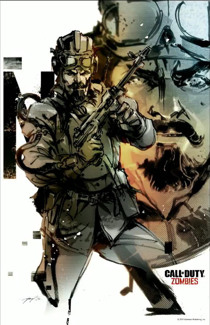 Yoji Shinkawa created artwork for Call of Duty Zombies ...