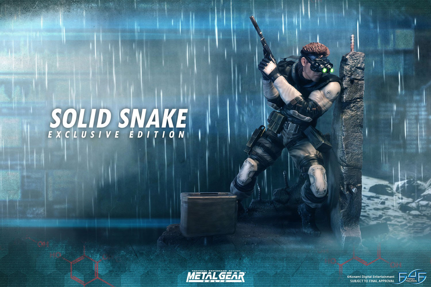 First4figures Unveils First Item In Their Metal Gear Solid
