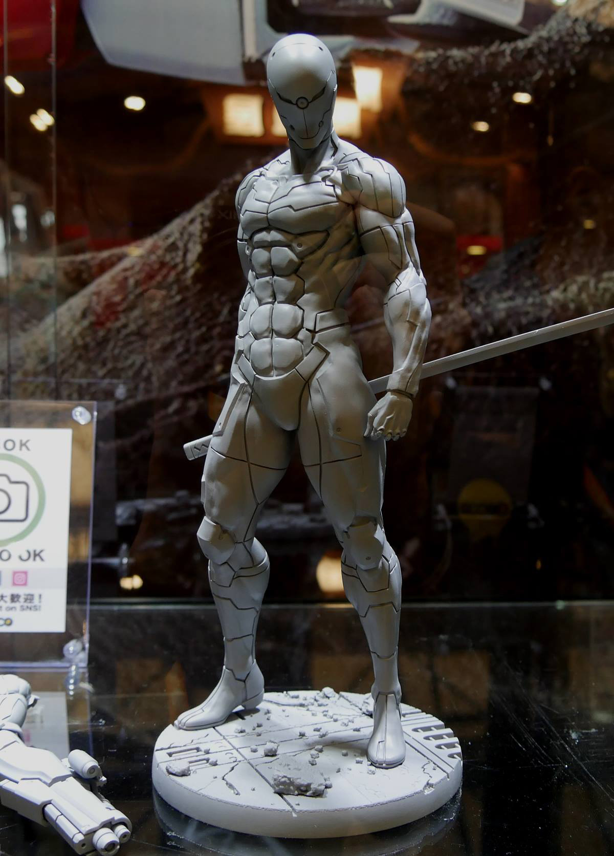 Top Gear Games >> First look at Gray Fox statue by Gecco – Metal Gear Informer