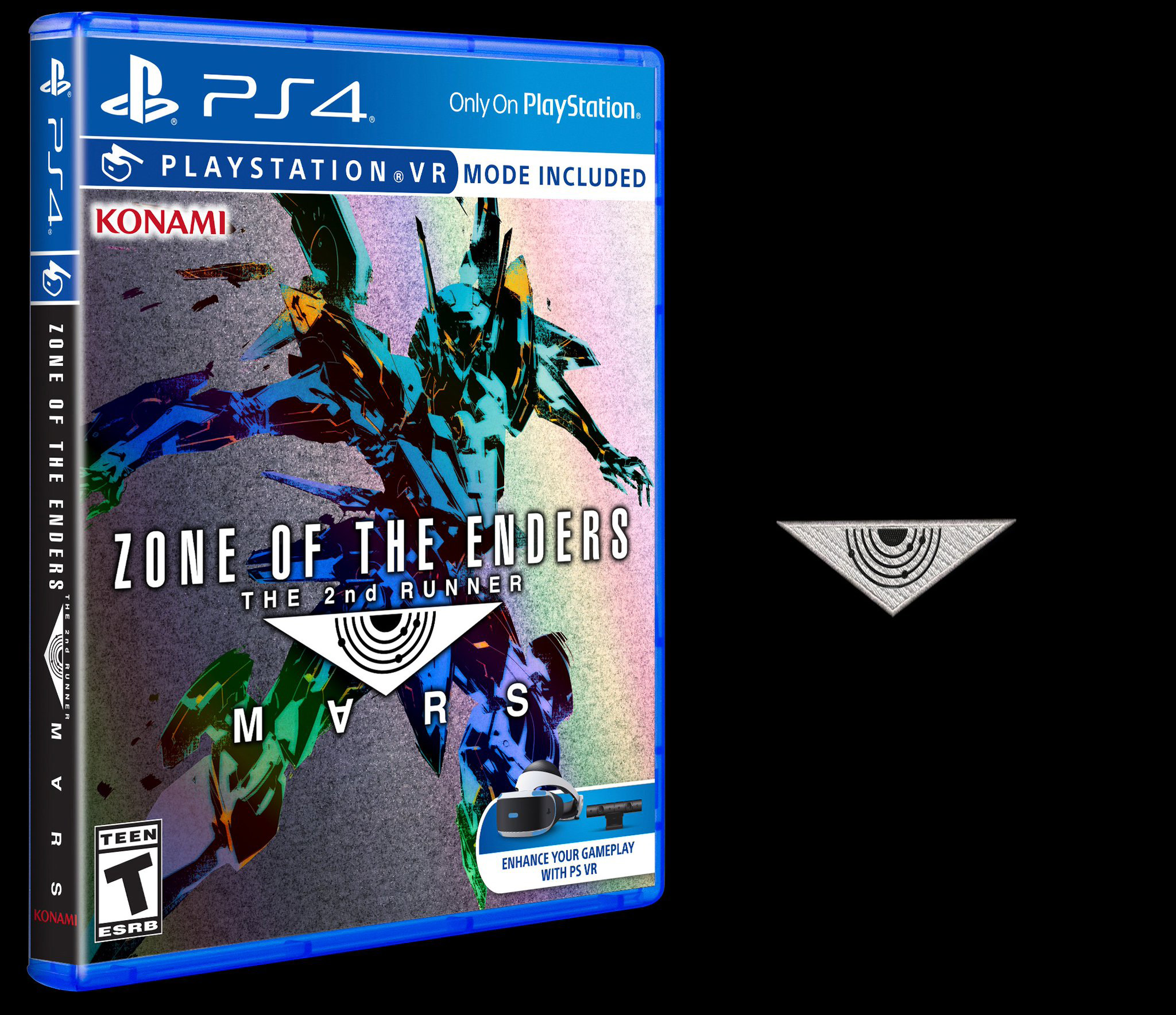 Zone Of The Enders 2nd Runner Mars Will Release In September Switch 3 Launch Edition Bonus English Us Games And Canada Physical Feature A Holographic Cover Zoe Triangle Embroidered Patch For Limited Time