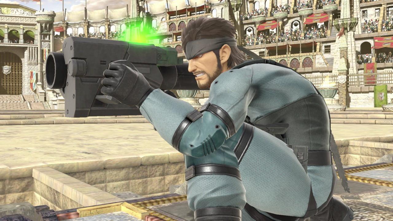 Snake returns to Super Smash Bros Ultimate on Nintendo