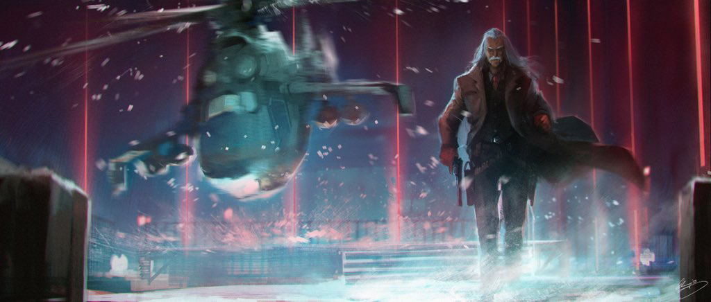 Jordan Vogt-Roberts Shares Metal Gear Concept Art To