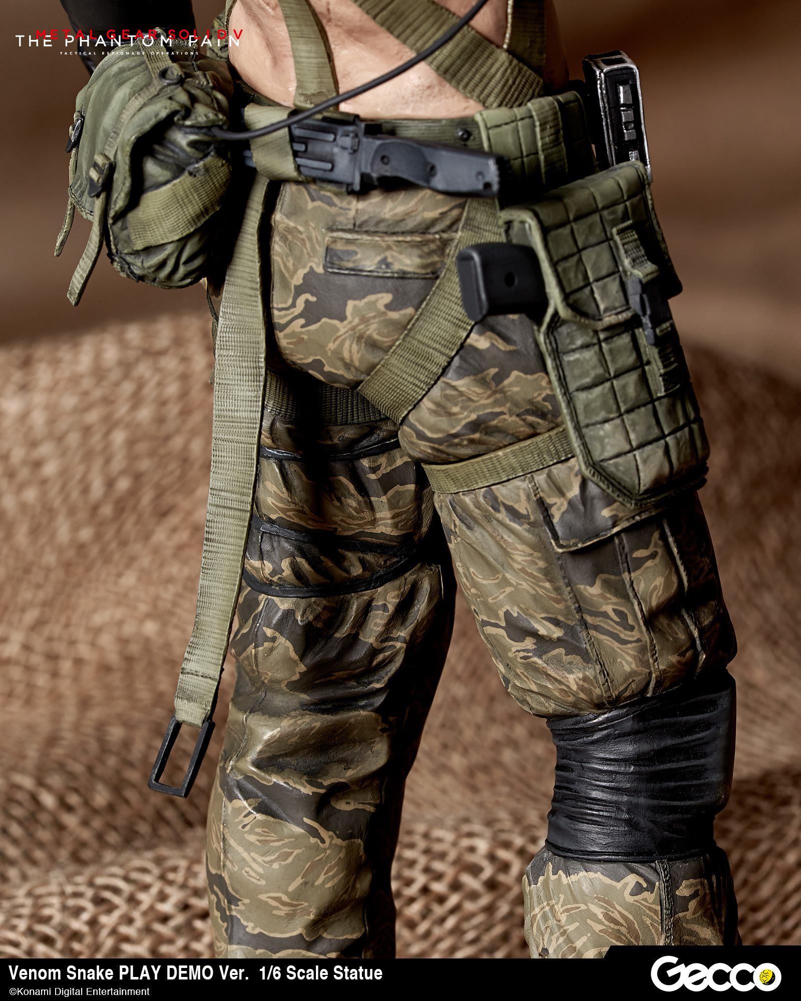 Shirtless Venom Snake Statue By Gecco Comes With Three