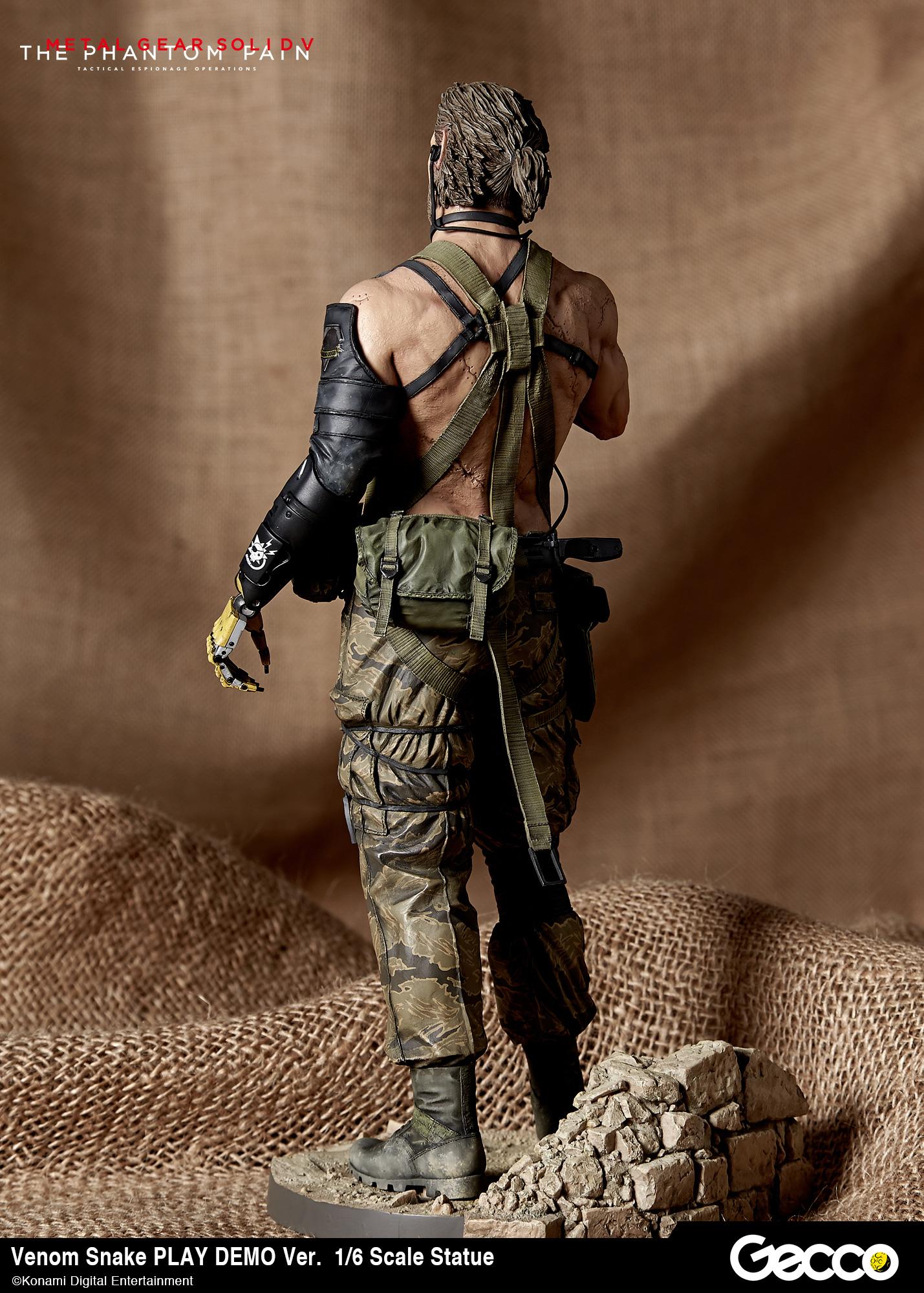 Metal Gear Solid V Venom Snake Play Demo Version Gecco