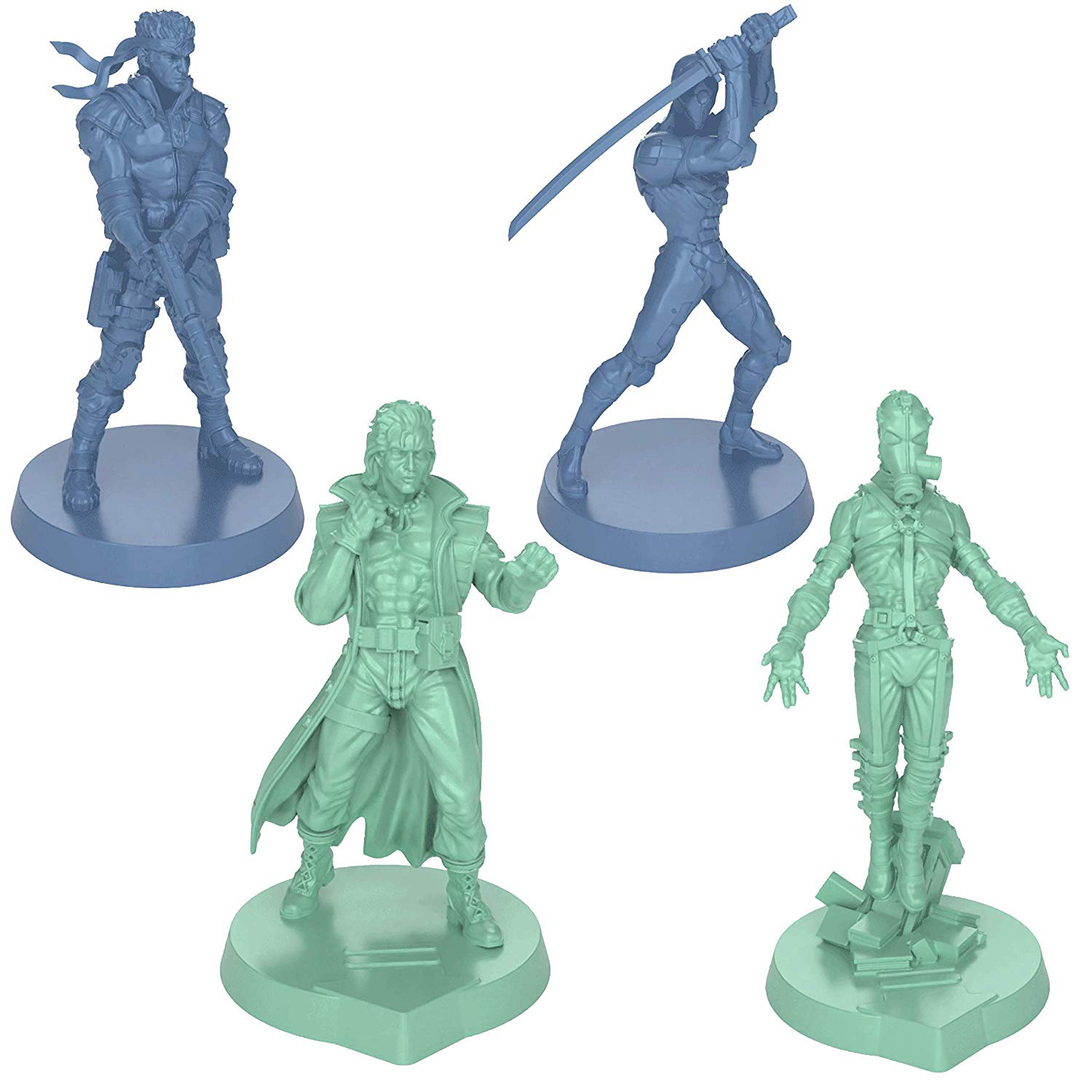 New details and images of the Metal Gear Solid Board Game