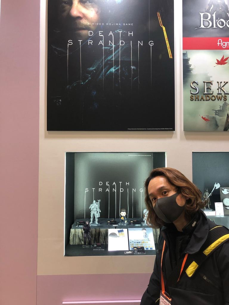 A Figma figure of Cliff joins several other Death Stranding statues.